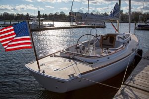 Alerion Sport 30 at Stanley's Boat Yard, Barrington RI